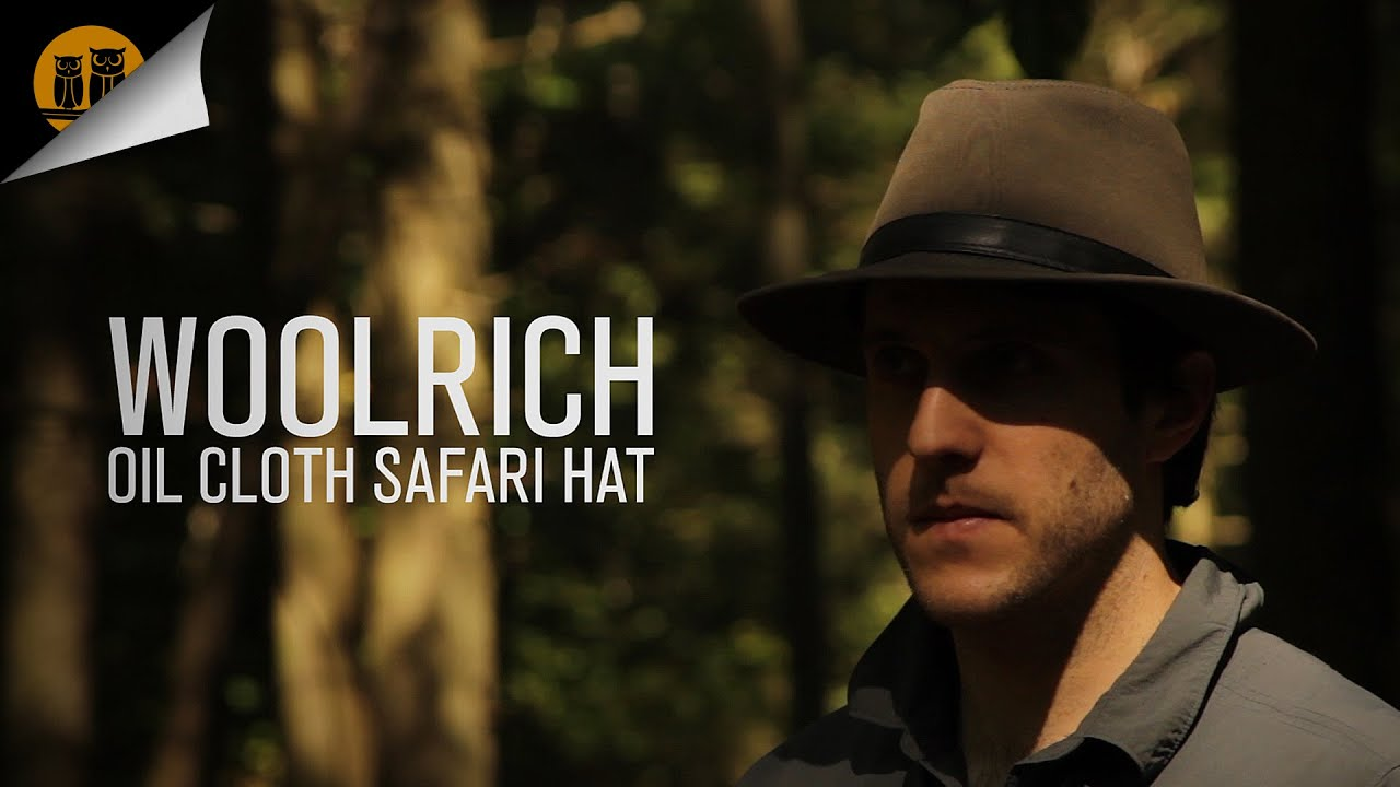 93973f7149ad3 Woolrich Oilcloth Safari Hat