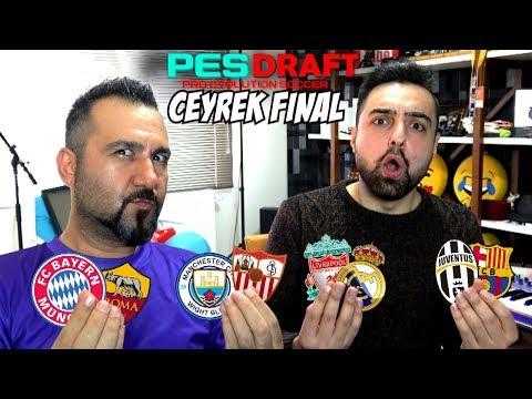 ŞAMPIYONLAR LIGI ÇEYREK FINAL CHALLENGE ! PesDraft Pes 2018