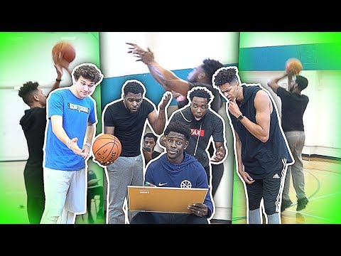 NBA ALL STAR JRUE HOLIDAY JUDGES 2HYPE JUMPSHOTS IN ONE WORD BASKETBALL CHALLENGE!
