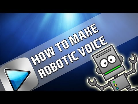 How To: Robotic Voice In ALL Sony Vegas