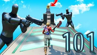 101 NIVEAU BOT DEATHRUN! -Fortnite créatif