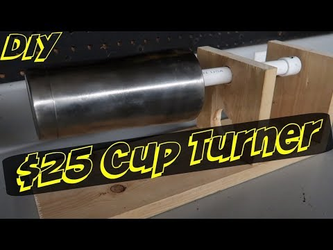 How To Make A $25 Epoxy Resin Cup Turner
