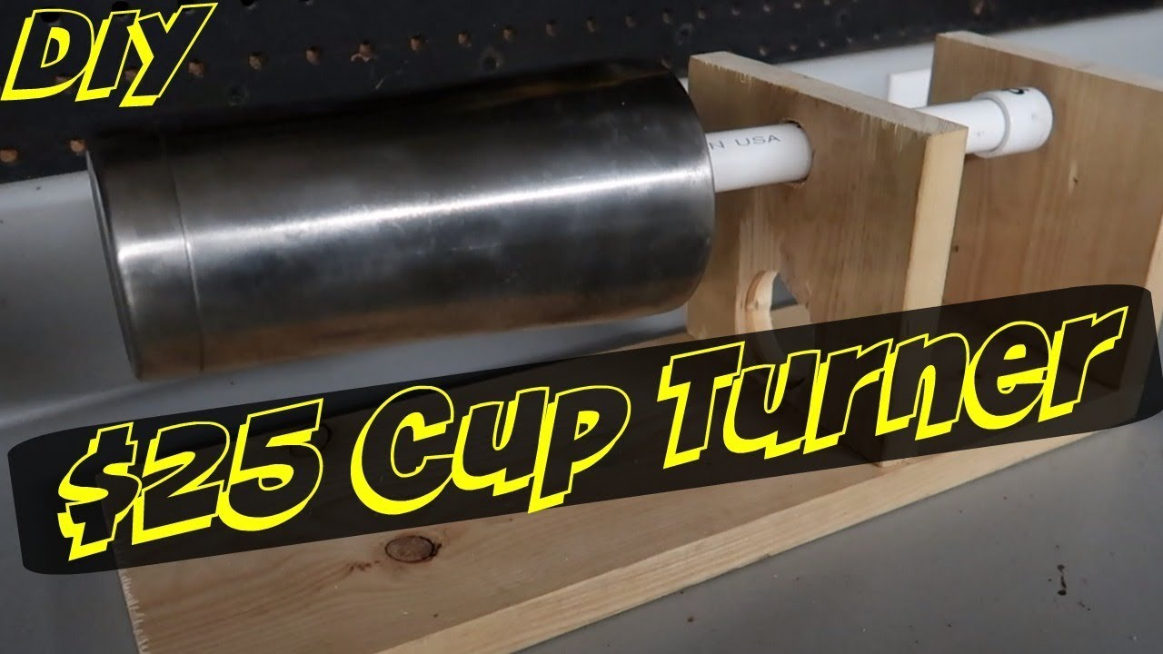 How To Make A 25 Epoxy Resin Cup Turner Doovi
