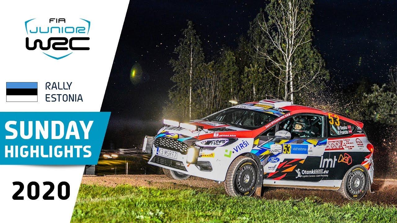 Junior WRC - Rally Estonia 2020: Sunday Highlights