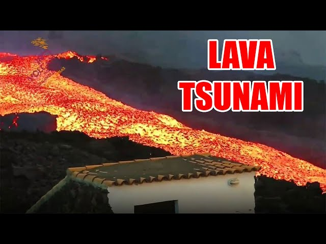 Lava Tsunami From Volcano. Moses and the Latter Rain. Prophecies of Natural Disasters Soon Fulfill