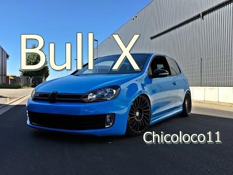 VW Golf VI GTI Bull X exhaust / Eta beta 19 Zoll