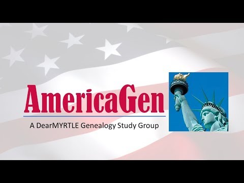 "AmericaGen Study Group: Chapter 25 ""Immigrant Ancestor Origins"""