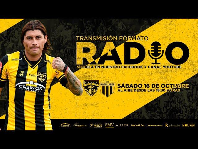 Ascenso 2021: Fernández Vial vs Magallanes   Fecha 26
