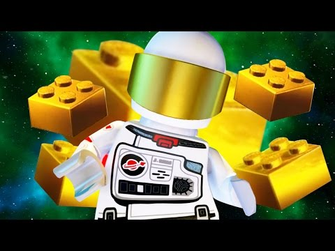 QUEST TO FIND THE GOLDEN BRICKS - Lego Worlds - Part 16 | Pu