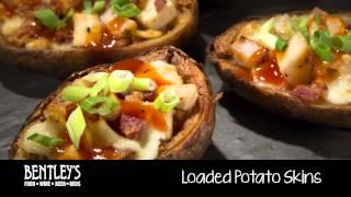 Bentley's Bar Inn Restaurant: Loaded Potato Skins