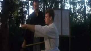 Van Damme - Bloodsport training