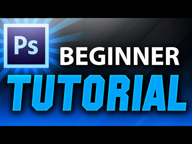 Adobe Photoshop Tutorial : The Basics for Beginners