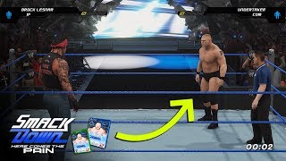 wwe smackdown here comes the pain remaster concept