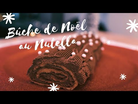 buche-de-noël-au-nutella-🍫🎄