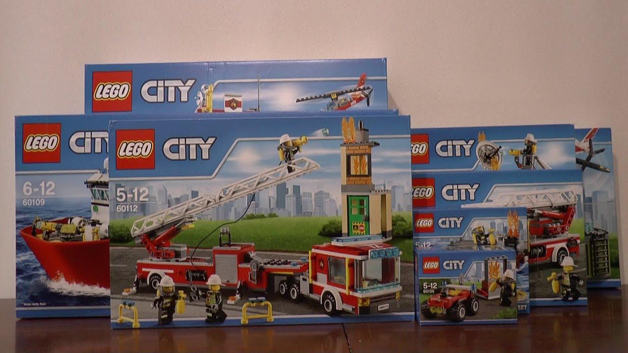 Nowości Styczeń 2016 Lego City Straż Pożarna Youtube