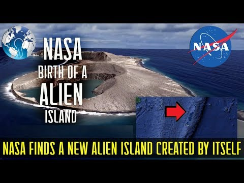 NASA found a New ALIEN Island created by Itself on Earth