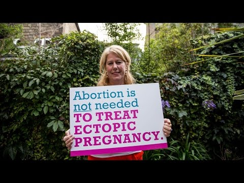 Treatment for ectopic pregnancy is not abortion. Real healthcare saves lives