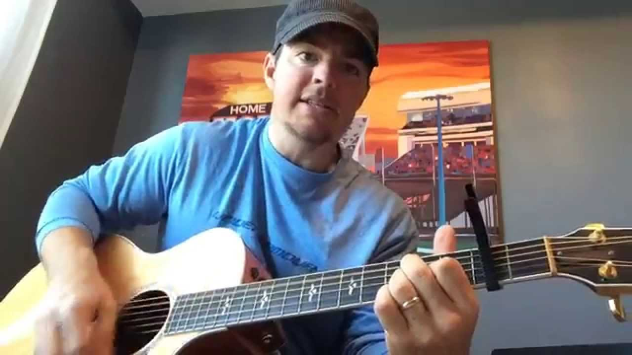 Crazy Girl Eli Young Band Beginner Guitar Lesson Youtube