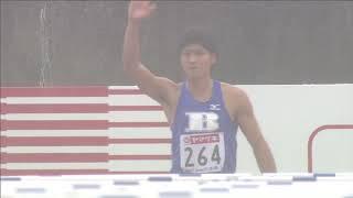 第98回日本陸上競技選手権大会 男子 110mH 予選 4組