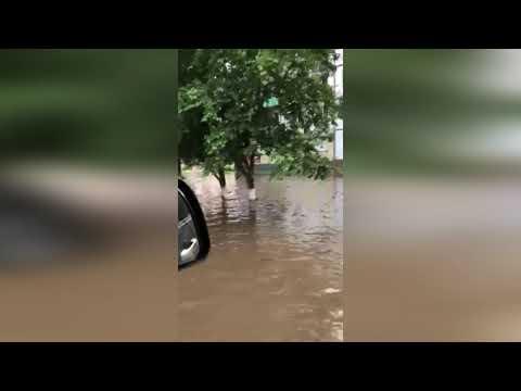 Страшное наводнение в Нижнеудинске