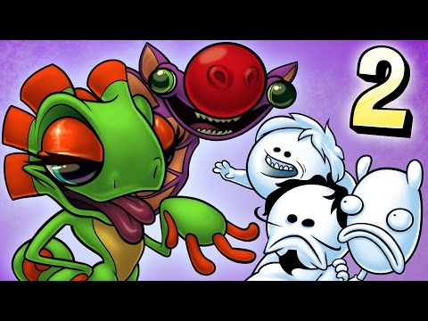 Oney Plays Yooka-Laylee WITH FRIENDS - EP 2 -  Nyeh!  