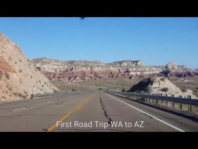 My first road trip-WA to AZ
