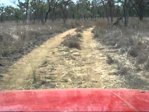 K) Track into the Cox River, NT,  damaged by cows Sept 2010