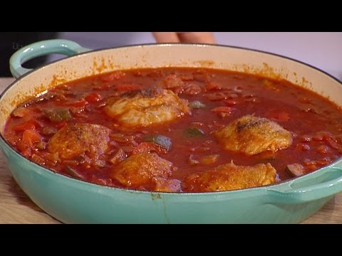 Jimmy Garcia's Chicken And Chorizo Stew | This Morning