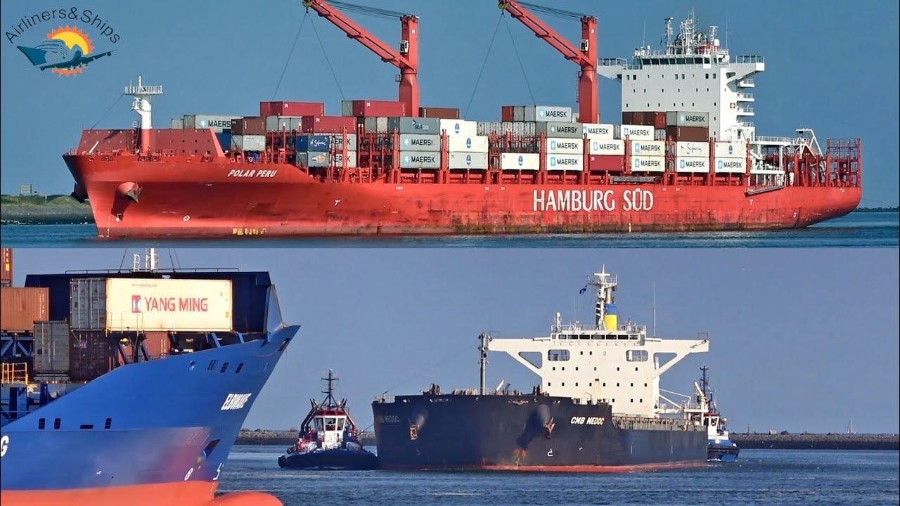 SHIPSPOTTING Port of ROTTERDAM September 2021