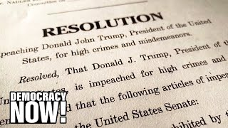 Law Professor: Trump Could Also Have Been Impeached for War Crimes, Assassinations & Corruption