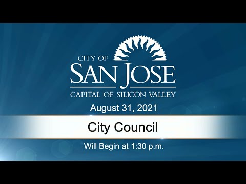 AUG 31, 2021 | City Council, Afternoon Session