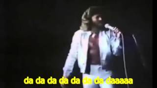 Bee Gees   WORDS  Spirits Having Flown 1979 Subtitulada