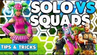 Win More Games! | Solo Vs Squads Tips & Tricks (1v4) | Fortnite Battle Royale