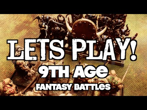Let's Play! - 9th Age: Fantasy Battles Ep 01
