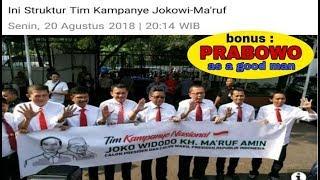 Download Video Inilah susunan Tim Kampanye Jokowi Maruf Amin di pilpres 2019 MP3 3GP MP4