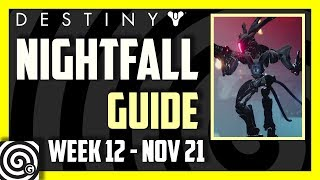 Destiny 2 - Prestige Nightfall Guide: The Pyramidion (Week 12, Nov 21)