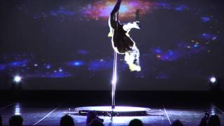 Mariela Alvarado, Pole Dance Performance, L.A. Salsa Fest, Sunday