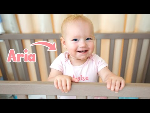 Baby Aria Morning Routine