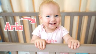 Baby Aria Morning Routine