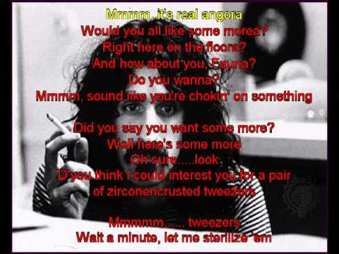 Frank Zappa - Dinah Moe Hum KARAOKE