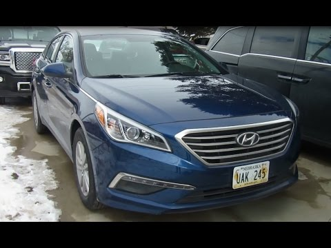 2015 hyundai sonata se full review and startup youtube. Black Bedroom Furniture Sets. Home Design Ideas
