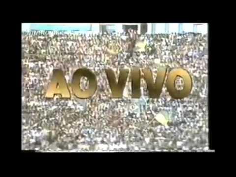Chamada - Amistoso: ''Brasil x Japão'' (Rede Manchete - 1989)