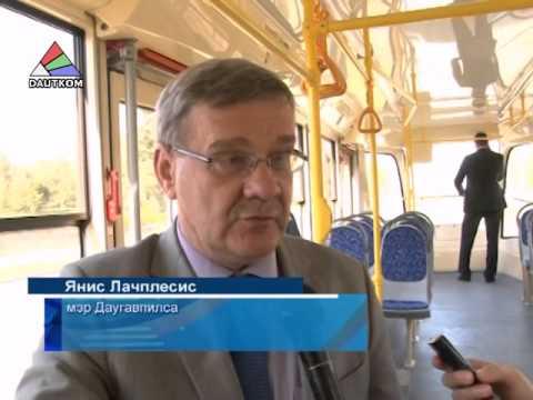 Министр и мэр оценили новый трамвай