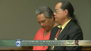 Peter Kema Sr. to be sentenced Monday in the death of son
