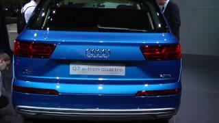 Salone di Ginevra 2015: Audi Q7 3.0 e-tron