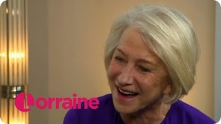 Dame Helen Mirren On Her Anti-Drink Driving Super Bowl Commercial | Lorraine