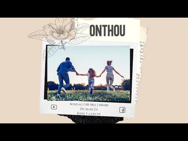 9 Mei | Onthou