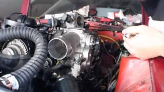 1jz 240z throttle body install