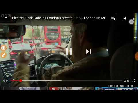Electric black cabs hit London streets