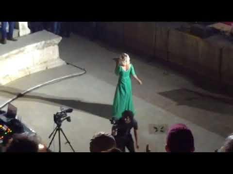 Joss Stone sings Super Duper Love in Roman Amphitheatre, Amman